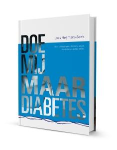 Boek cover Doe mij maar diabetes